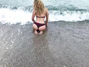 Sexe anal à la plage